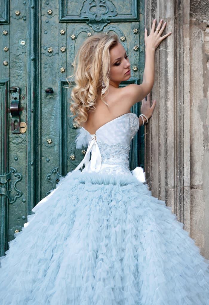 Свадебное платье сапфир