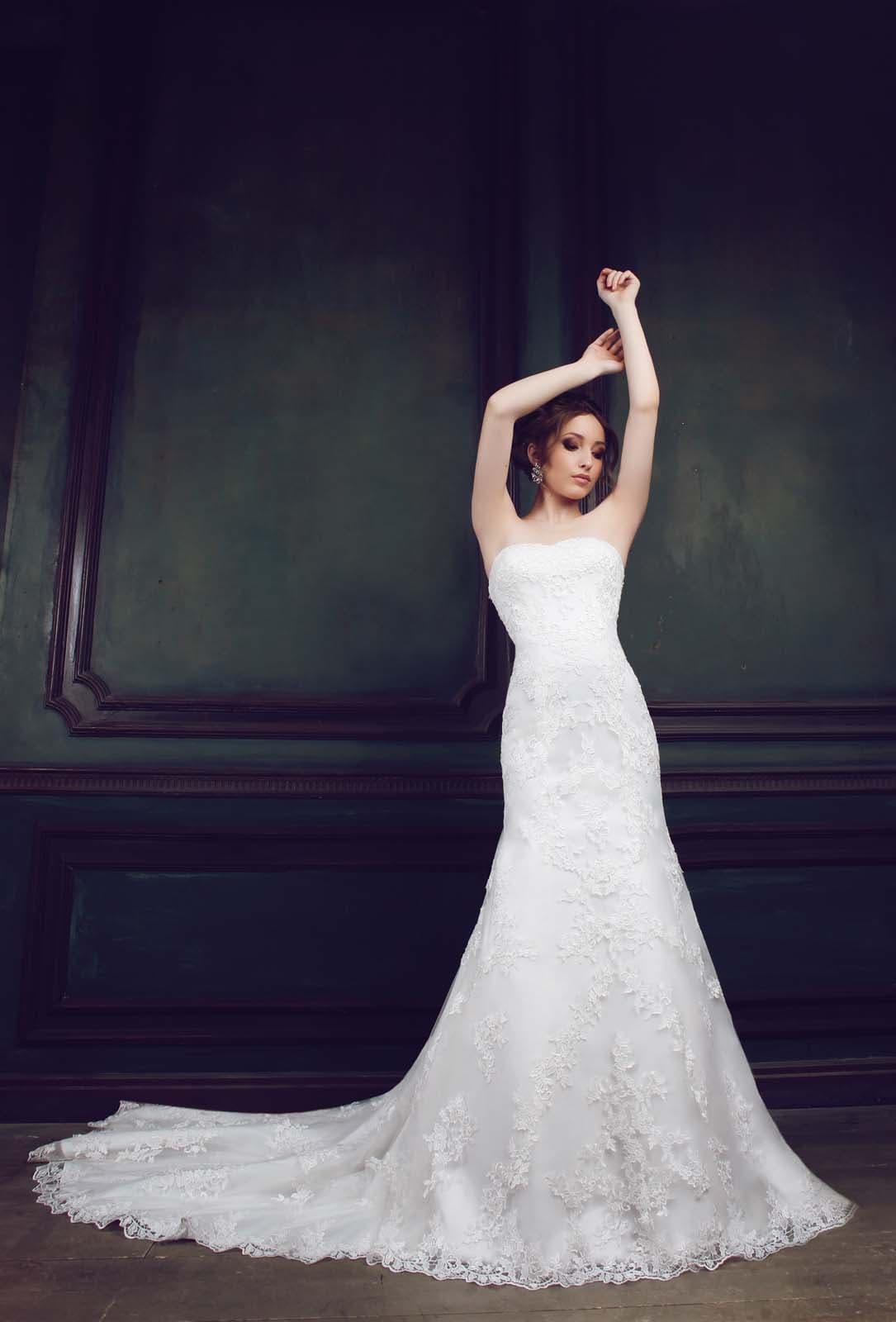 Свадебные Платья Из Милана Со Шлейфом