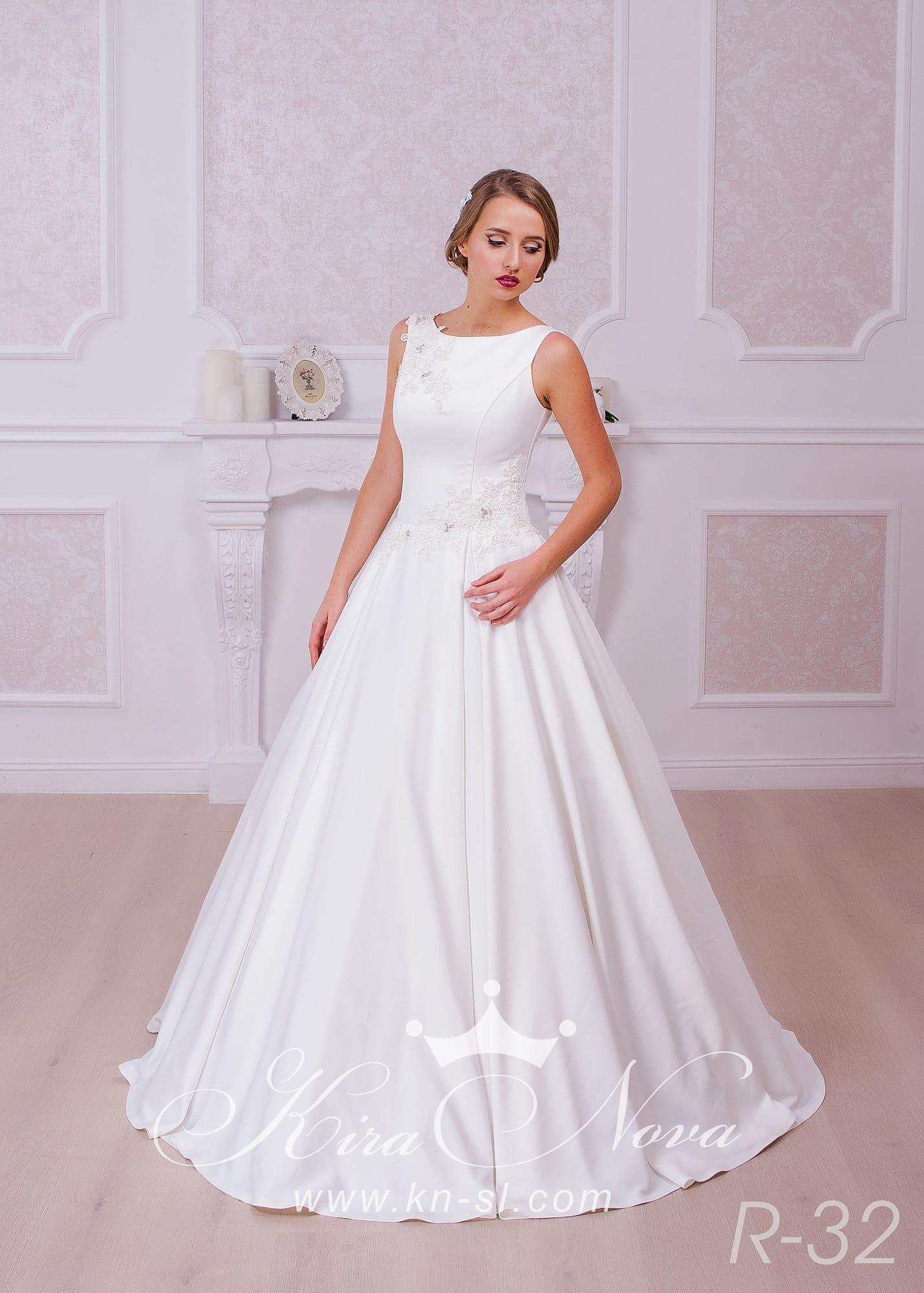 Свадебные платья классические