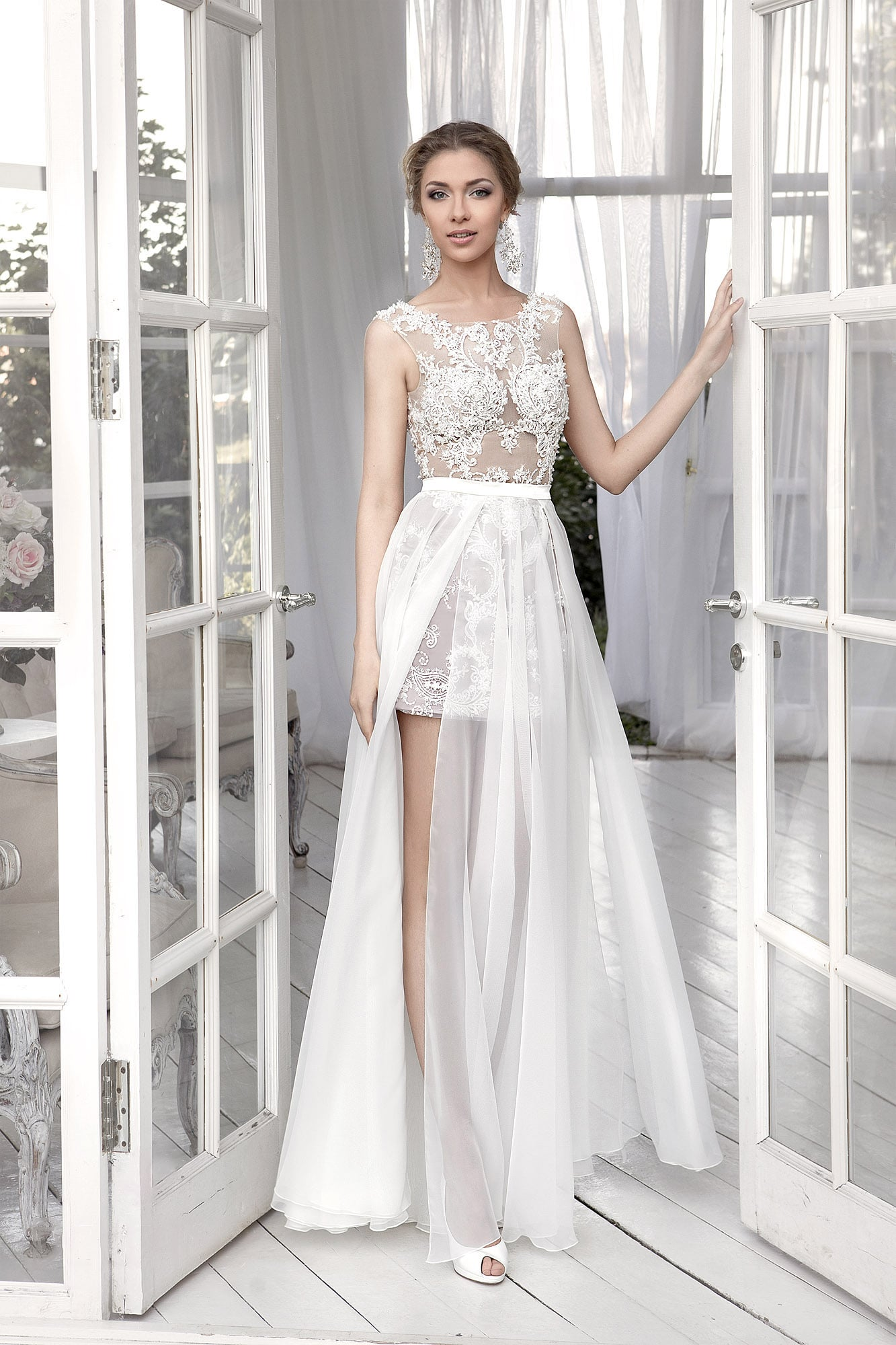 Натали платье белое