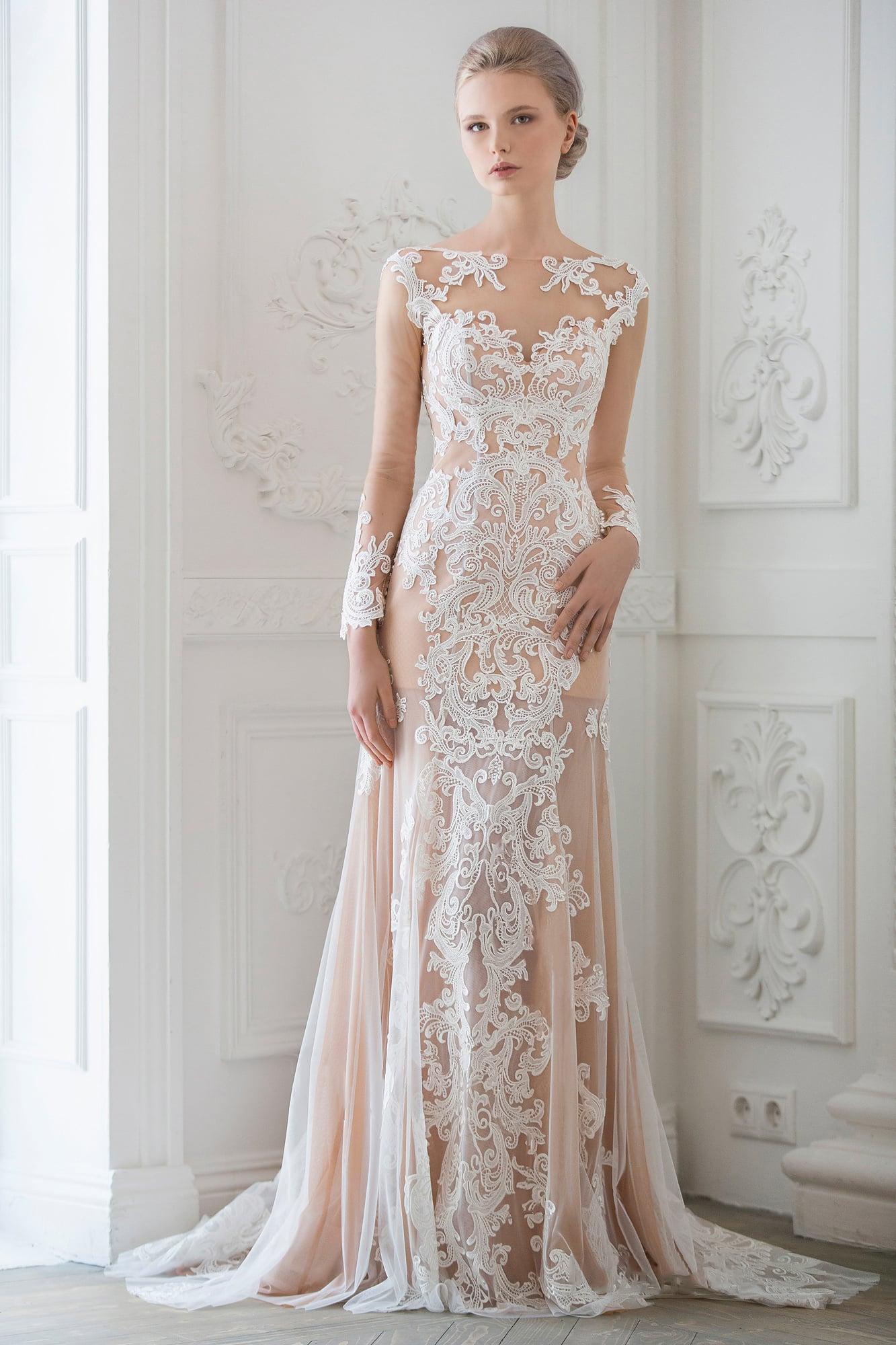 Свадебные платья сетка фото