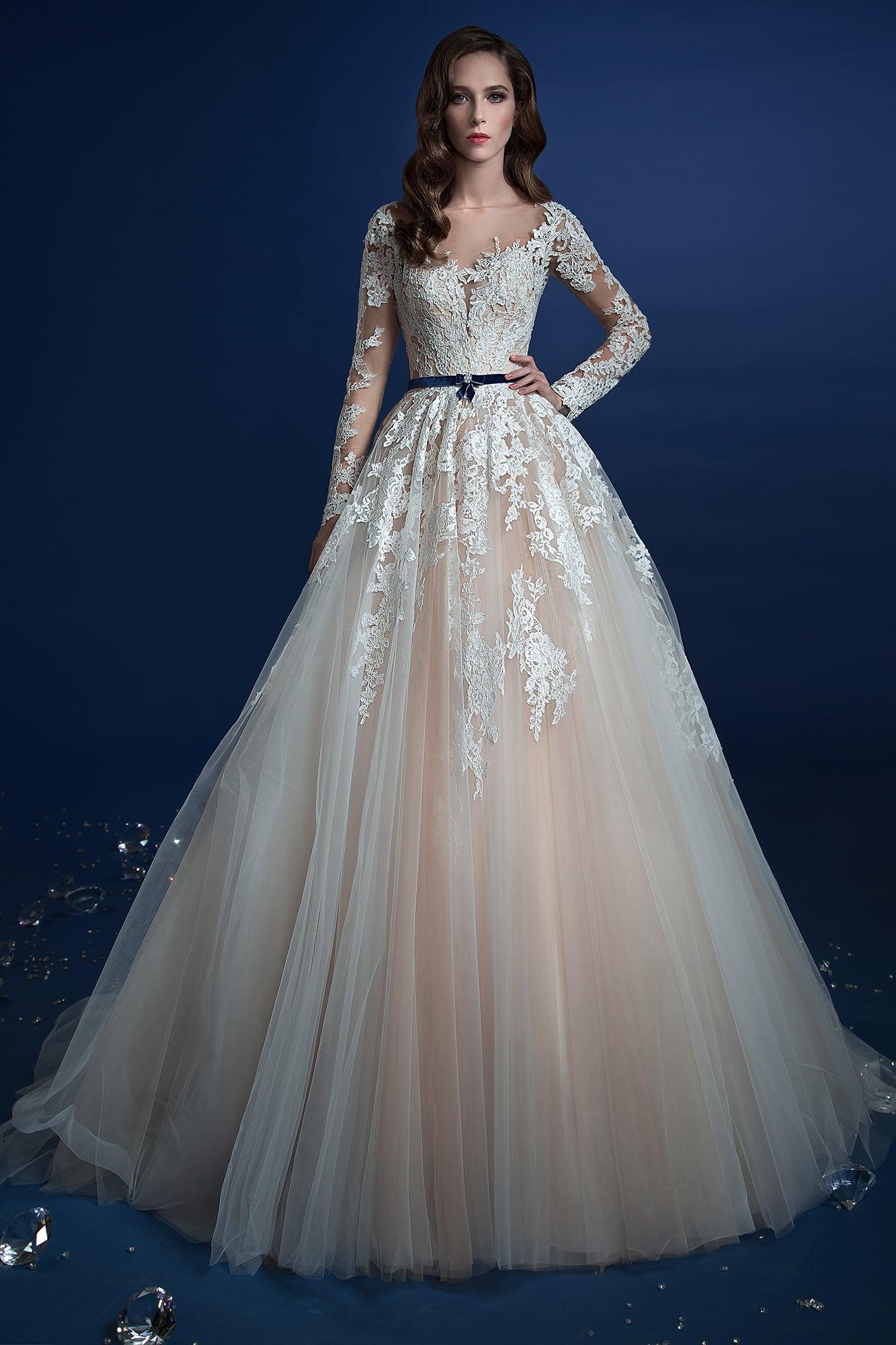 Бежевые платья свадебные фото