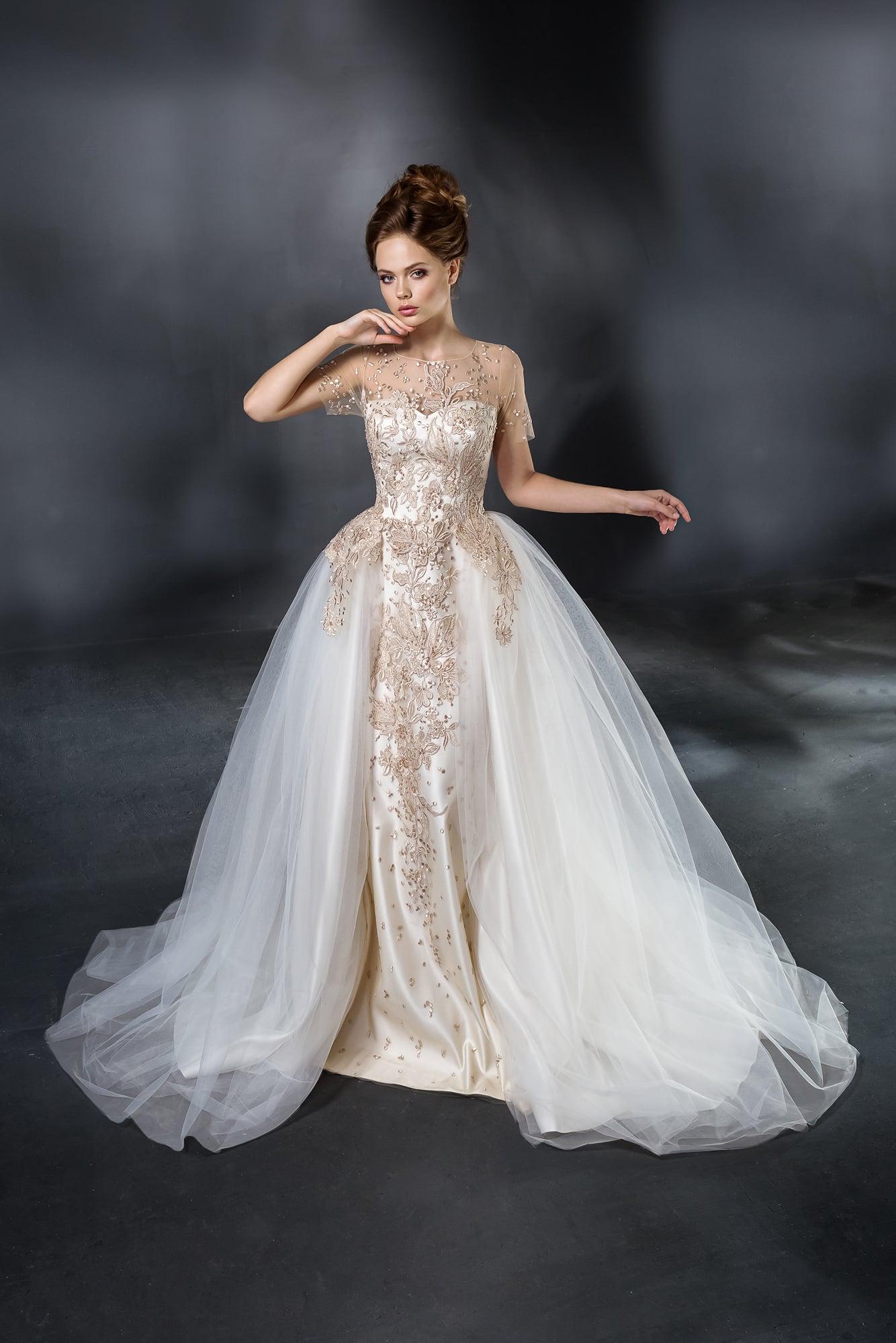 Вышивка платье свадебное платье 98