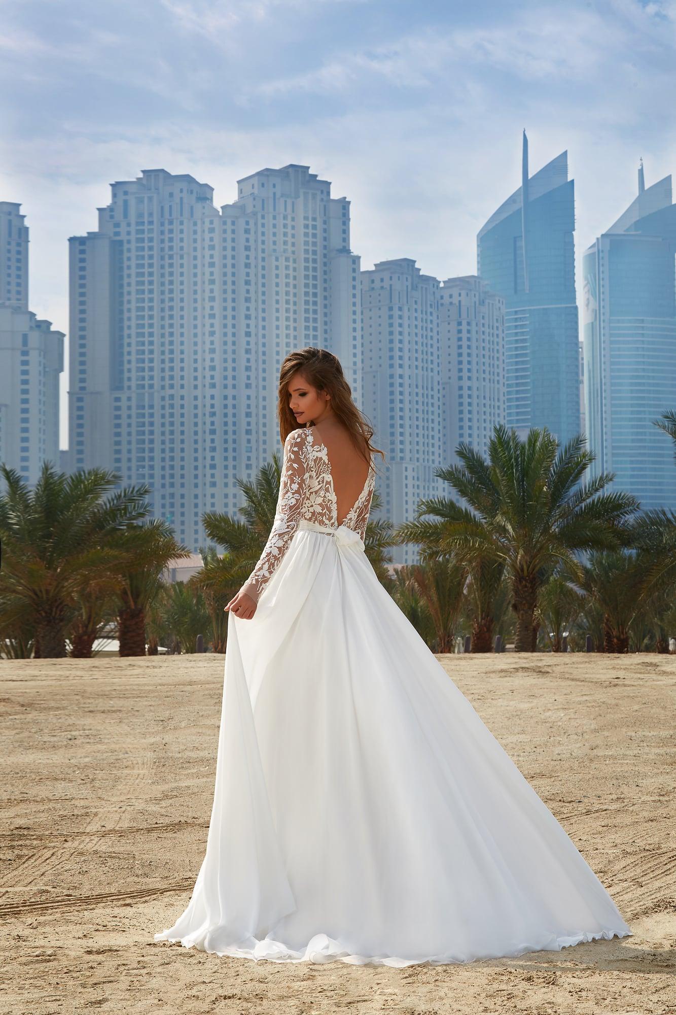 Вырез на спине платье свадебное