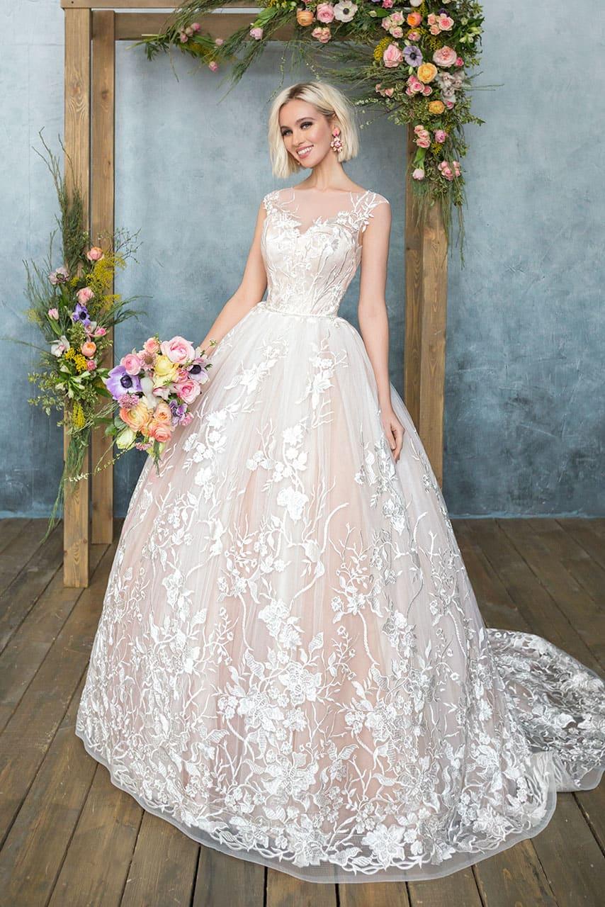 Свадебные платья анна кузнецова цены