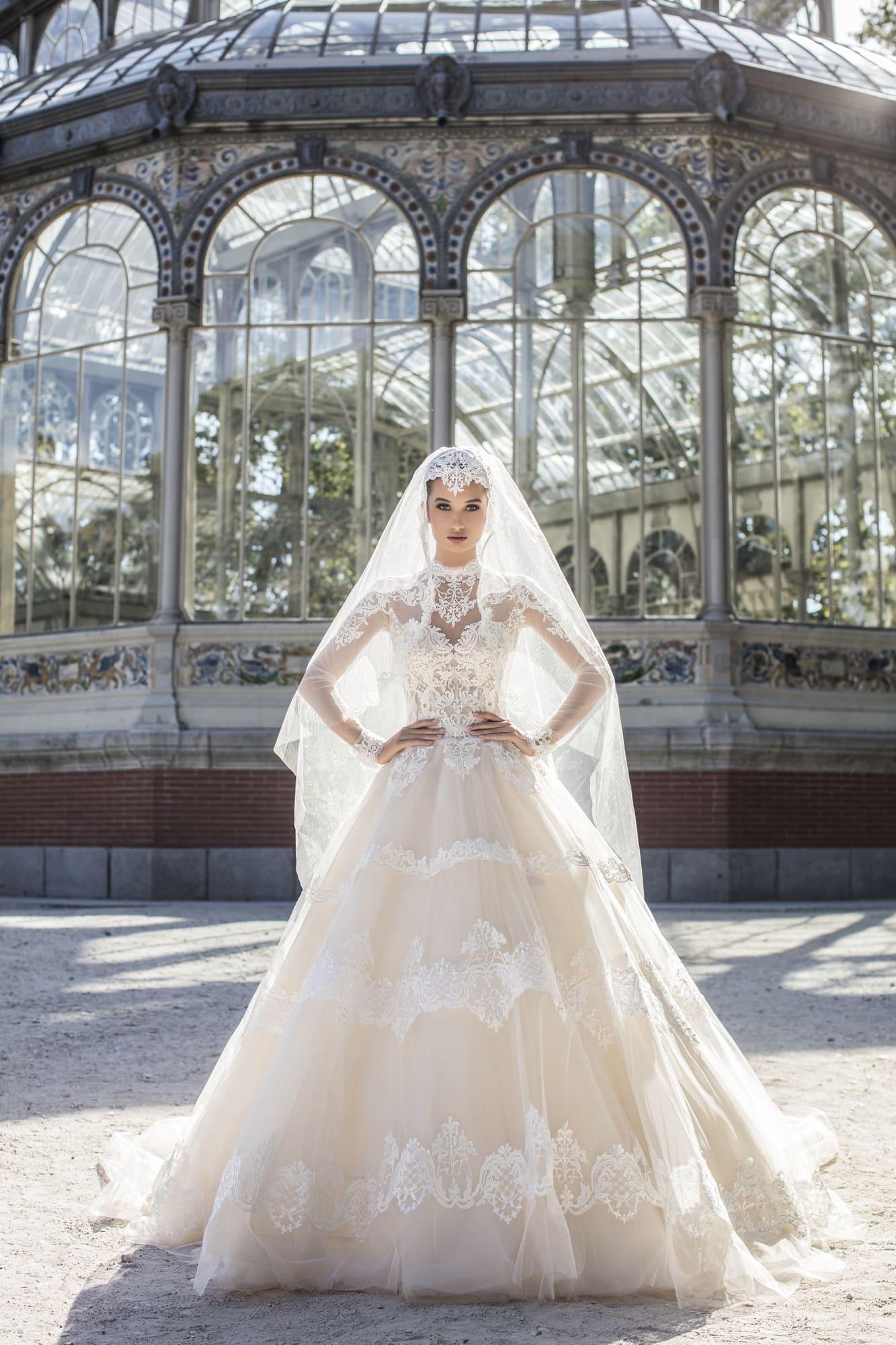 aba369fa5802 Свадебное платье Victoria Soprano Monique ▷ Свадебный Торговый ...