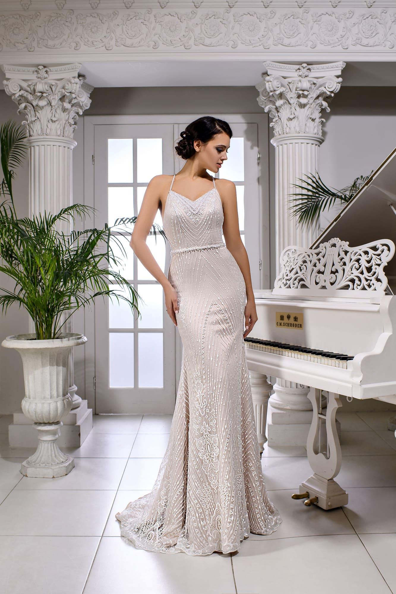 3f5f7d4639fb Свадебное платье Kira Nova Ebby ▷ Свадебный Торговый Центр Вега в ...