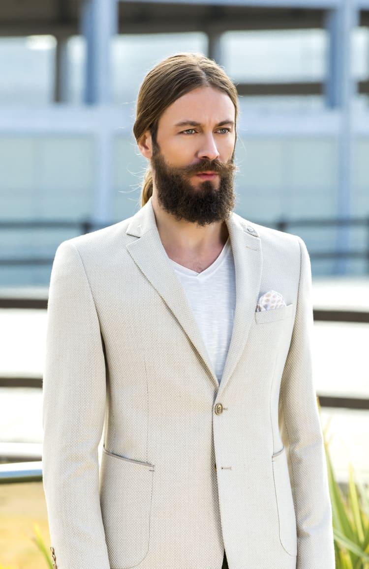 ▶▶Свадебный мужской костюм со светлым пиджаком и темными брюками. ☎ +7 495 724 26 05 ▶▶ Свадебный центр Вега Ⓜ Петровско-Разумовская
