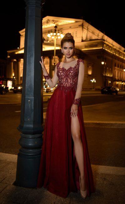 a72c87c26e70 Бордовые вечерние платья ▷ Свадебный Торговый Центр Вега - Москва