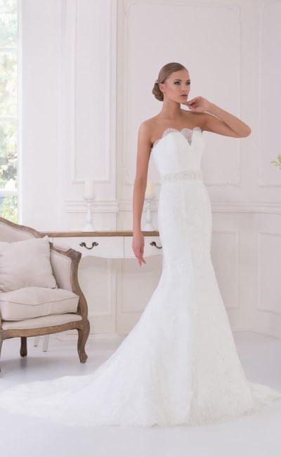 """Свадебное платье """"рыбка"""" со скидкой"""