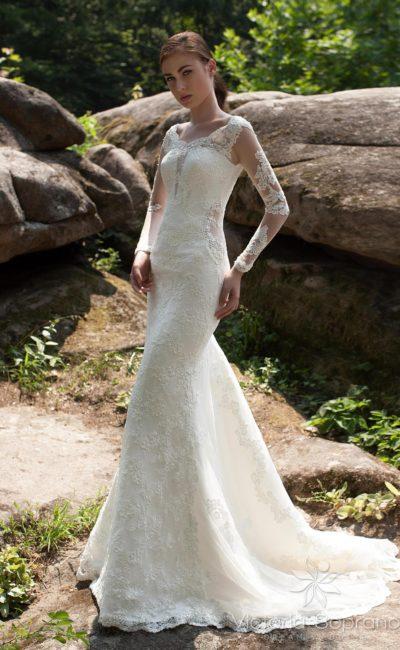 Эксцентричное свадебное платье