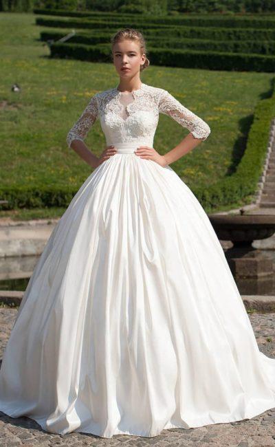 Роскошное платье для венчания
