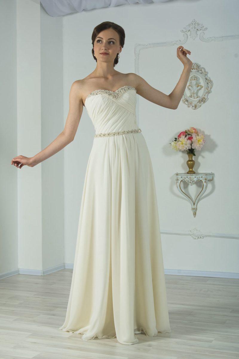 свадебное платье в ампирном стиле