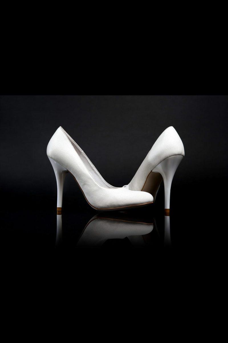 Туфли кожаные с изящной фактурой