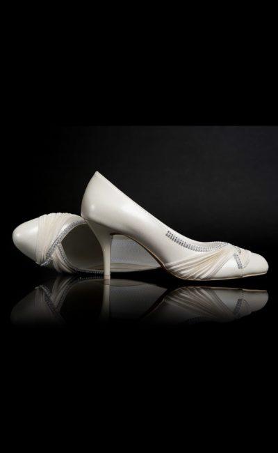 светло-бежевые свадебные туфли