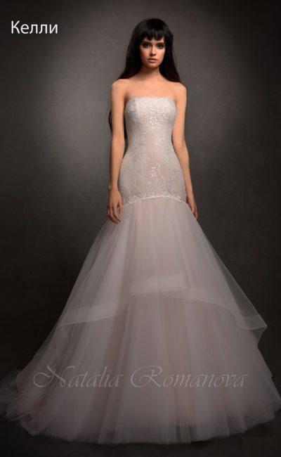 свадебное платье с юбкой «рыбка»