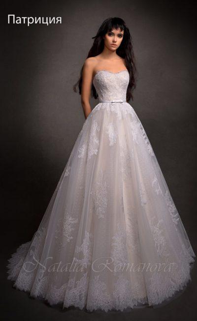 Романтическое свадебное платье