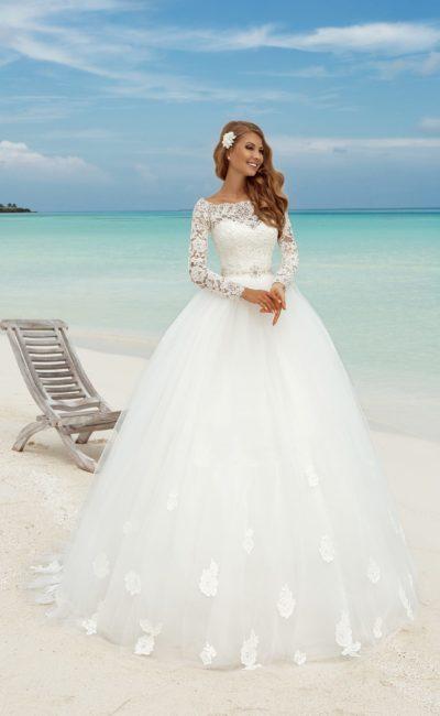 689bb3a763d Подборка  Свадебные платья 2019. Eva Grandes Райское вдохновение