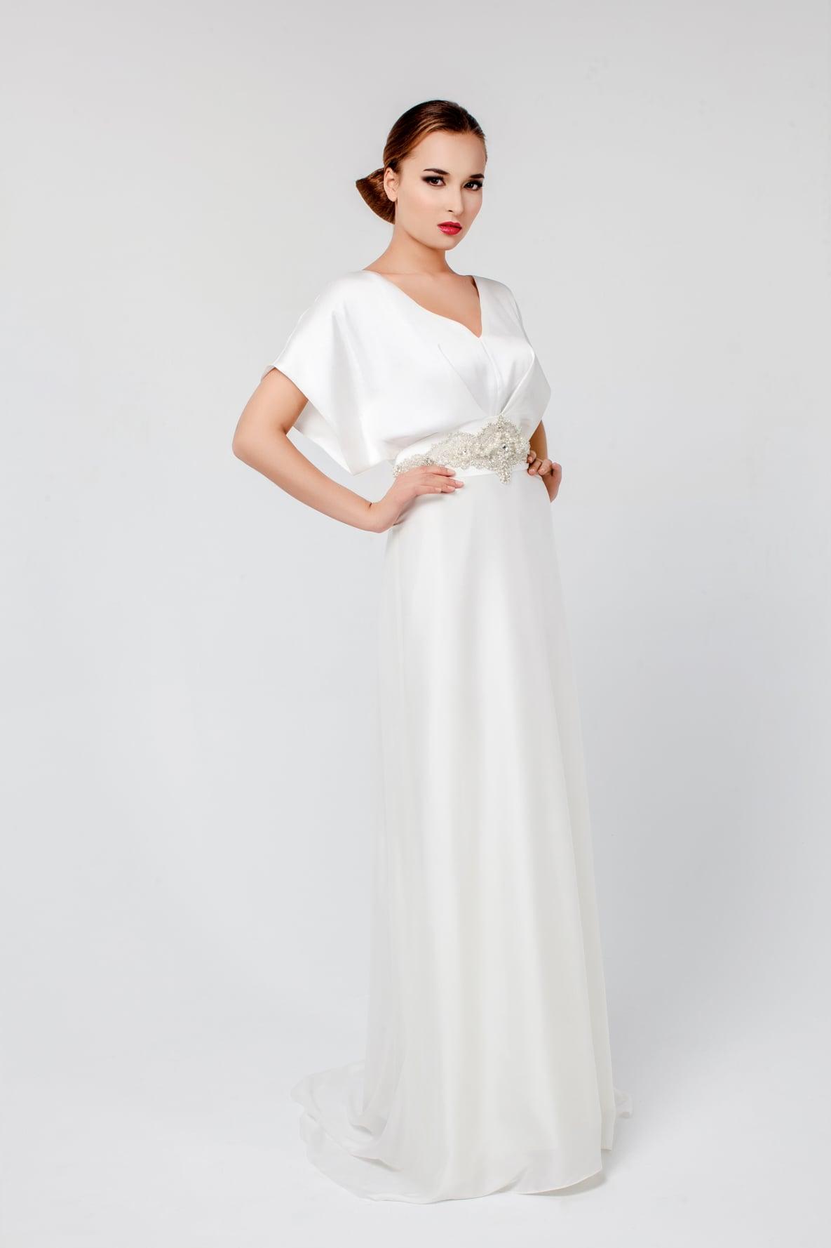 1656ff24780 Вечернее белое платье в пол Viyas Клер ▷ Свадебный Торговый Центр ...