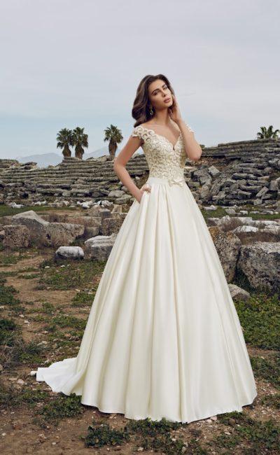 Cвадебное платье годе