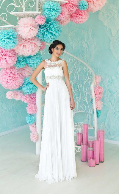 Недорогое свадебное платье в греческом стиле