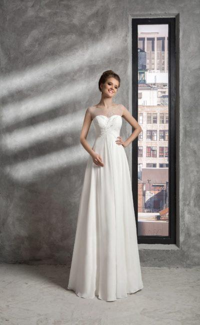 Недорогое свадебное платье греческого стиля