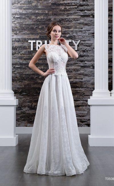 Платье прямое недорогое свадебное