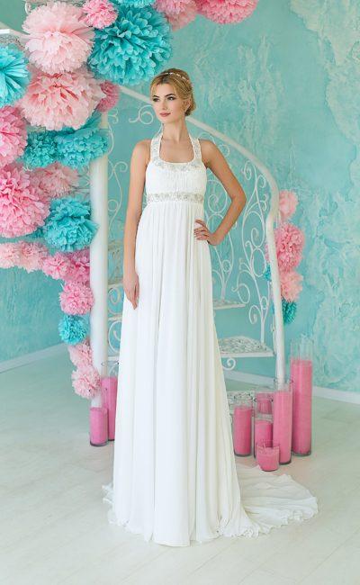 Недорогое греческое свадебное платье