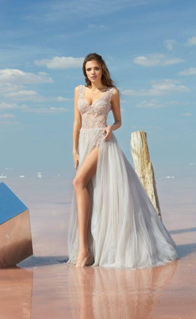 Вечернее платье айвори