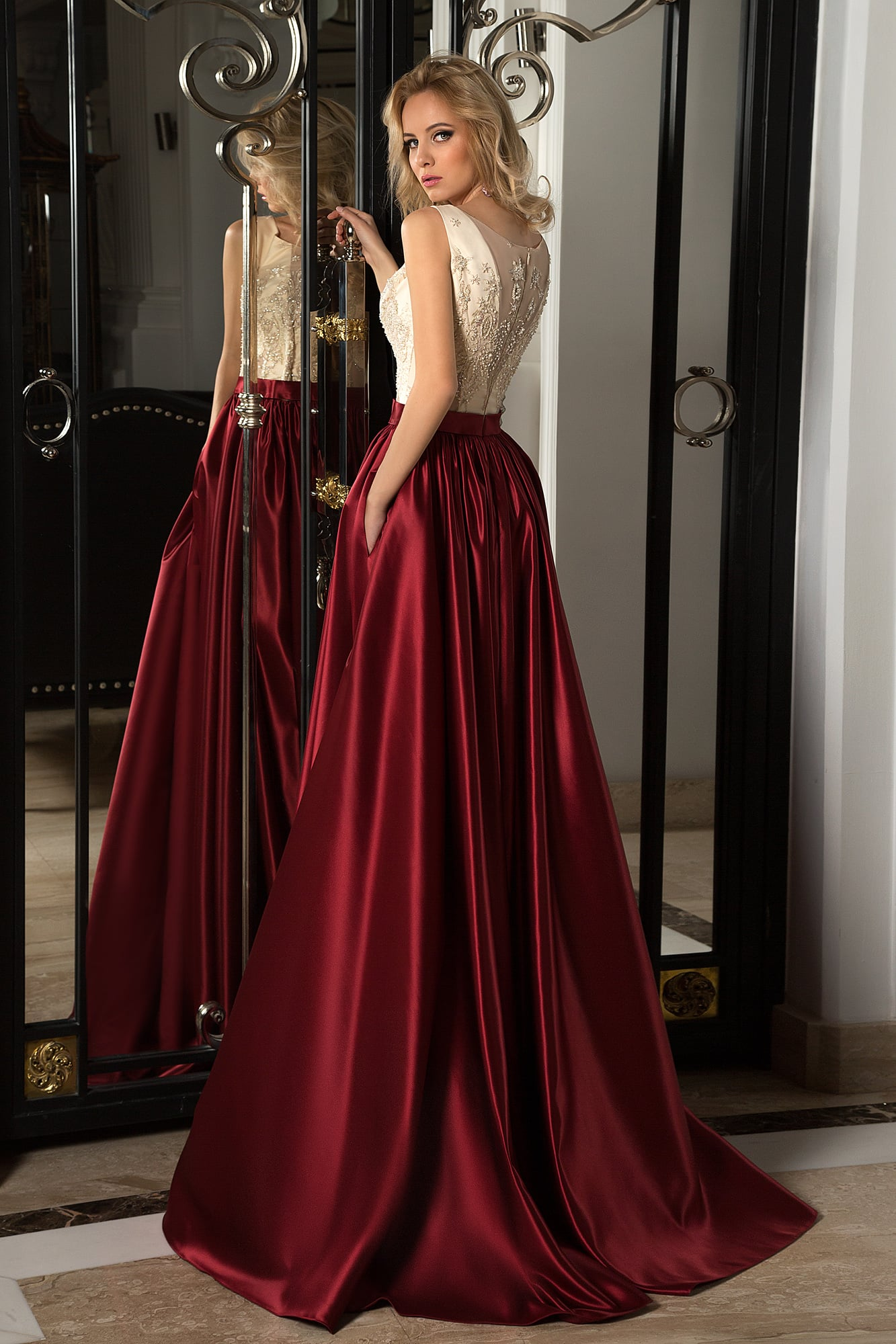 aa9a49b61e9  shop 16-1053   shop 16-1069 . Oksana Mukha 2017   16-1054. Элегантный  соблазн воплощается в вечернем платье ...