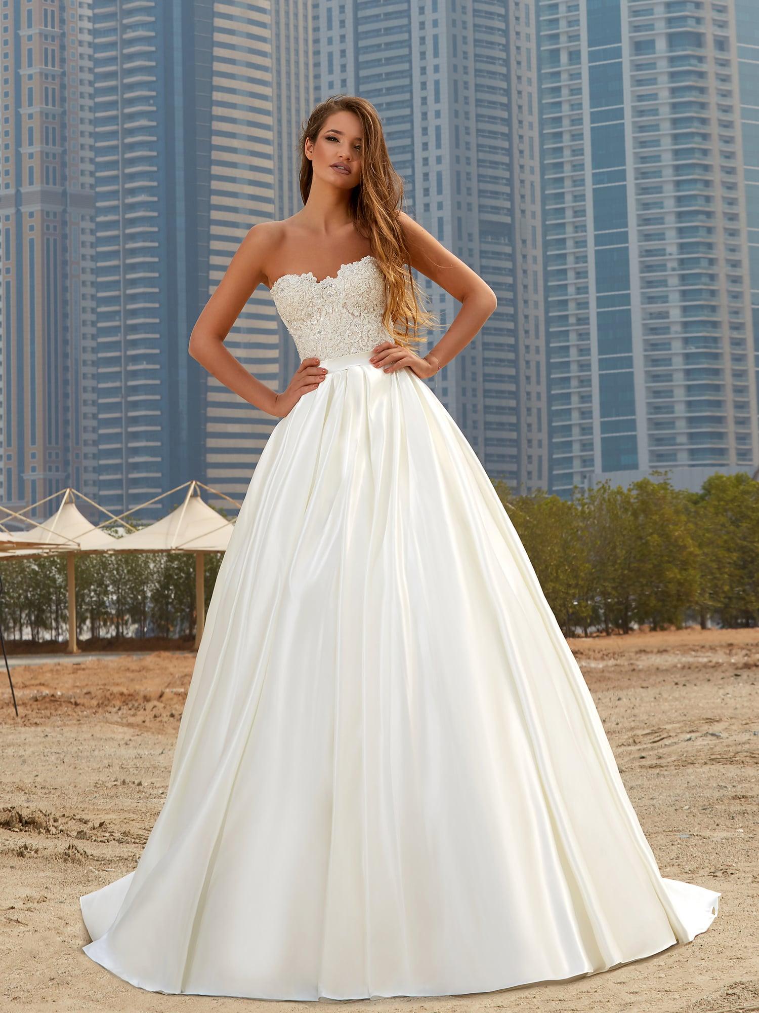 380e923a5e1 Пышное атласное свадебное платье Lanesta Amandola ▷ Свадебный ...