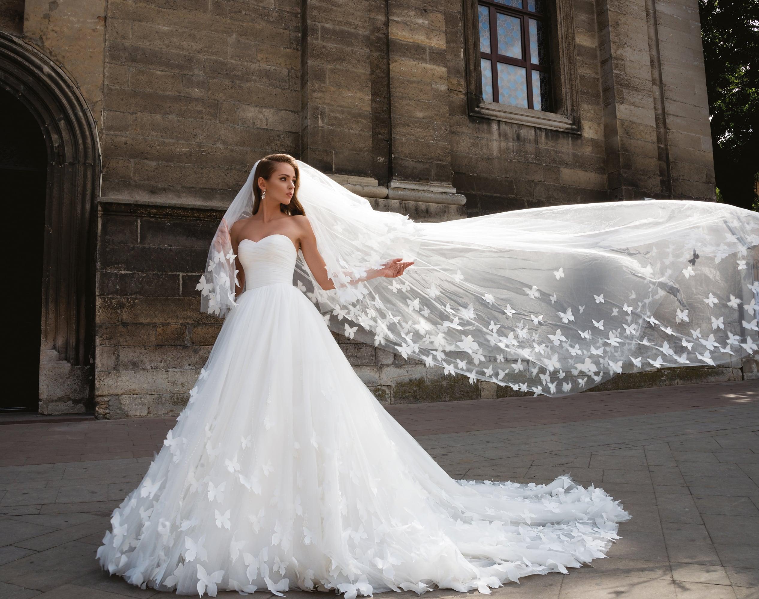 41ba209fda6 Свадебное платье Dominiss Donna ▷ Свадебный Торговый Центр Вега в ...