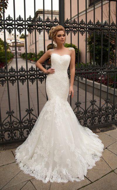Облегающее платье русалка
