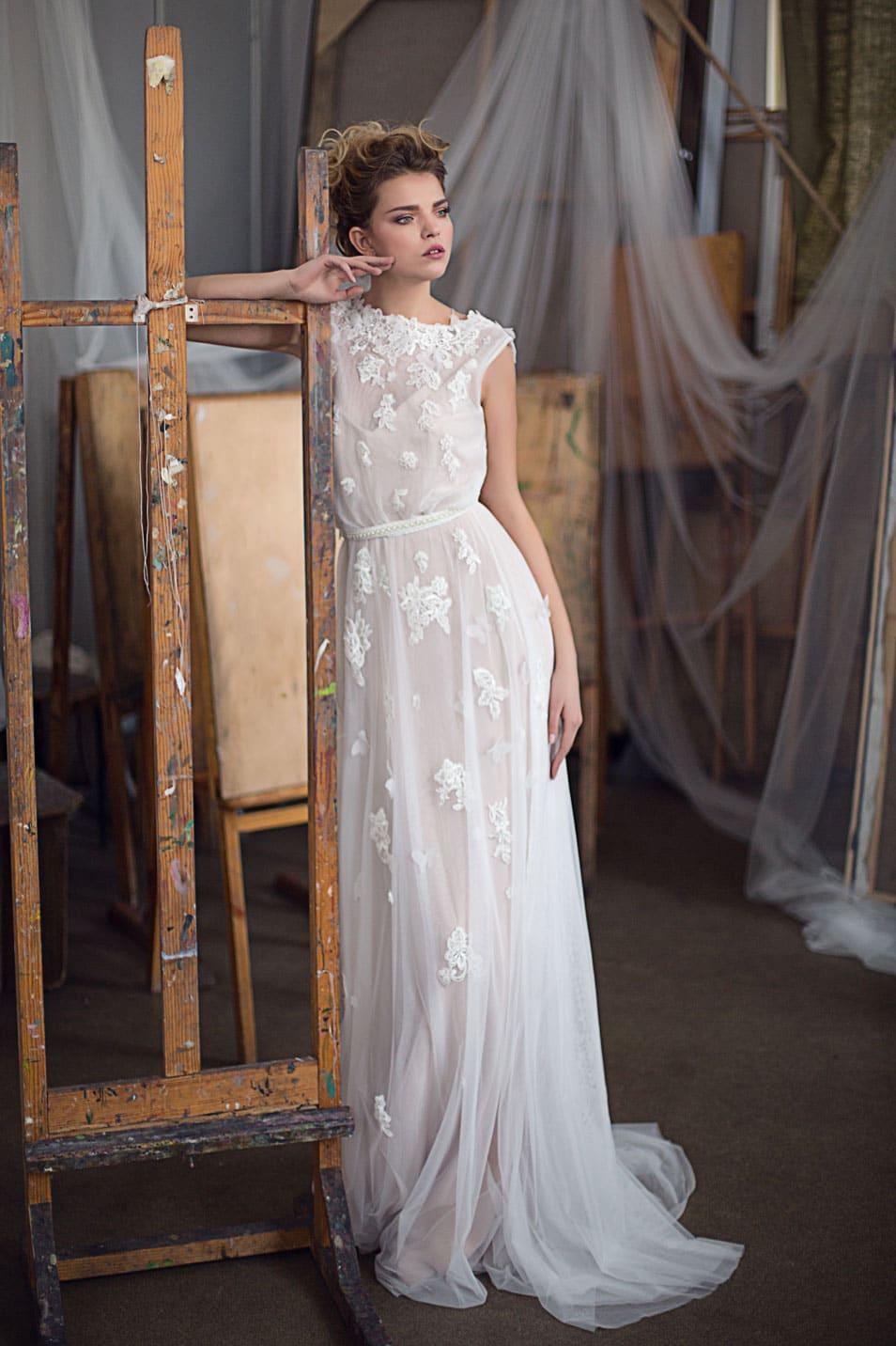 02a84a4f996 Свадебное платье в греческом стиле Valentina Gladun Konstanta ...