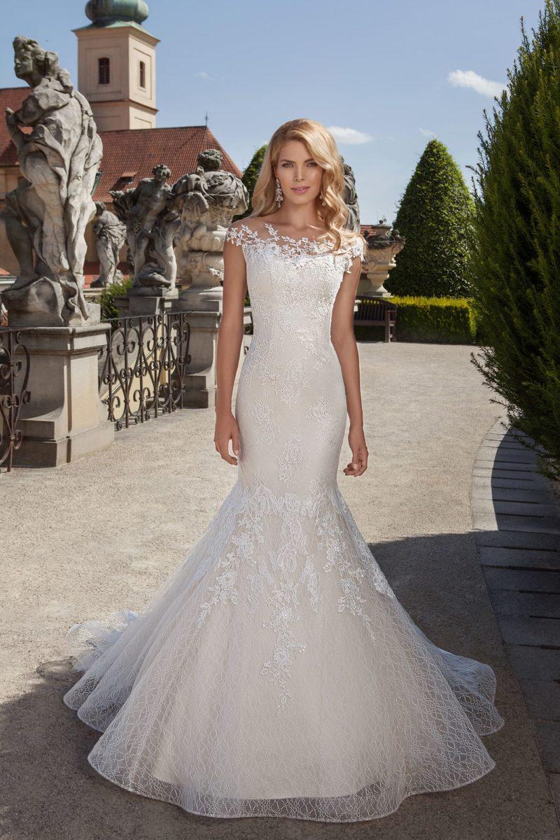 Свадебное платье «рыбкой»