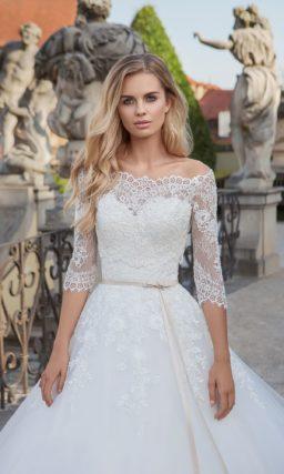 Платье со съемным верхом