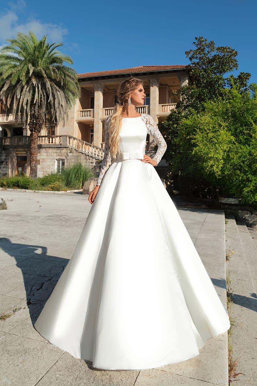 855f8ec271f6832 Платье на венчание в церкви Анна Кузнецова Erika ▷ Свадебный ...