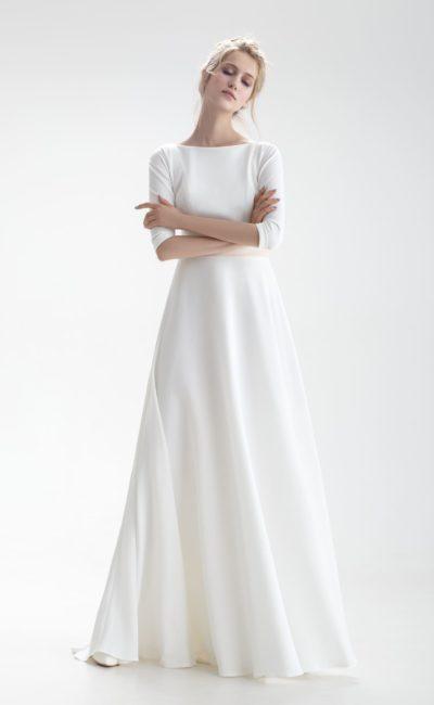 Простое платье для венчания