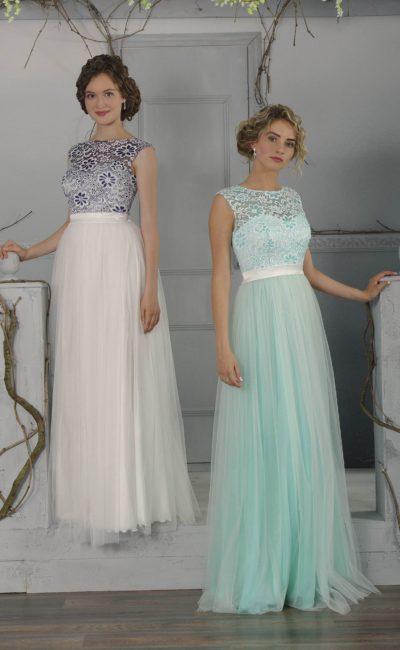 Платье «колонна»