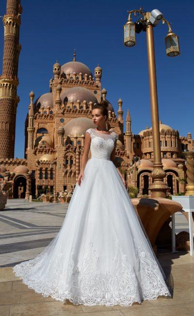 Длинное недорогое свадебное платье