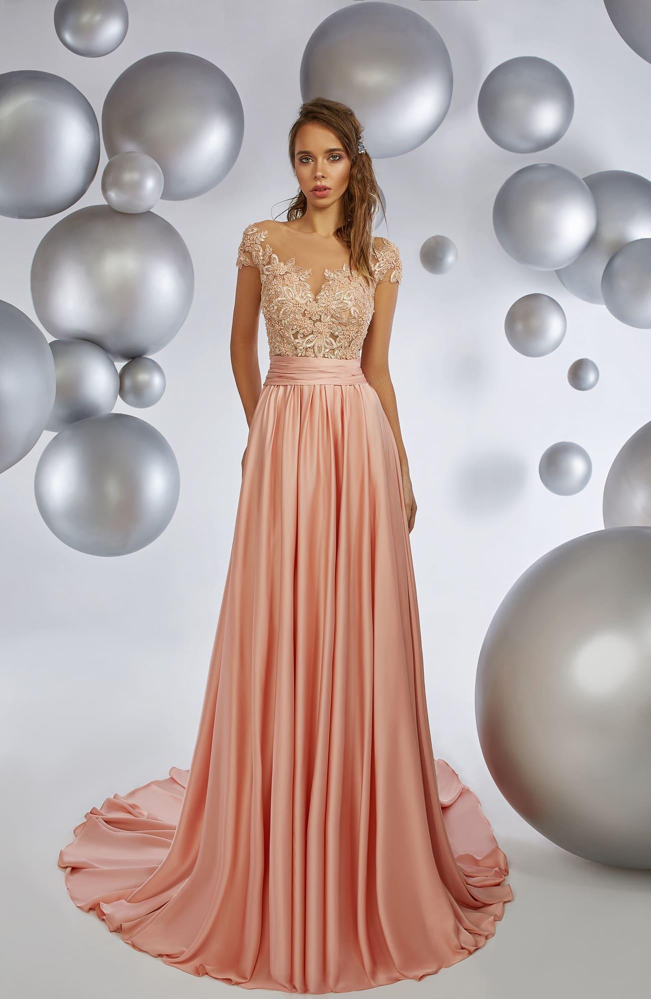 aeb54155155d61d Вечернее платье Armonia Tropical Peach ▷ Свадебный Торговый Центр ...