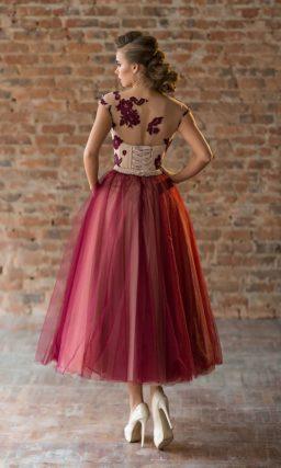Короткое платье на выпускной