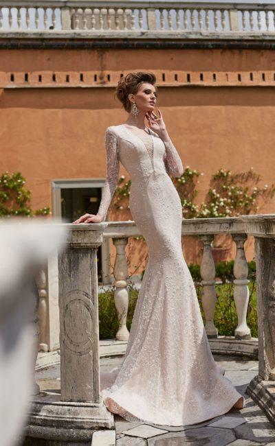 Платье русалка для венчания