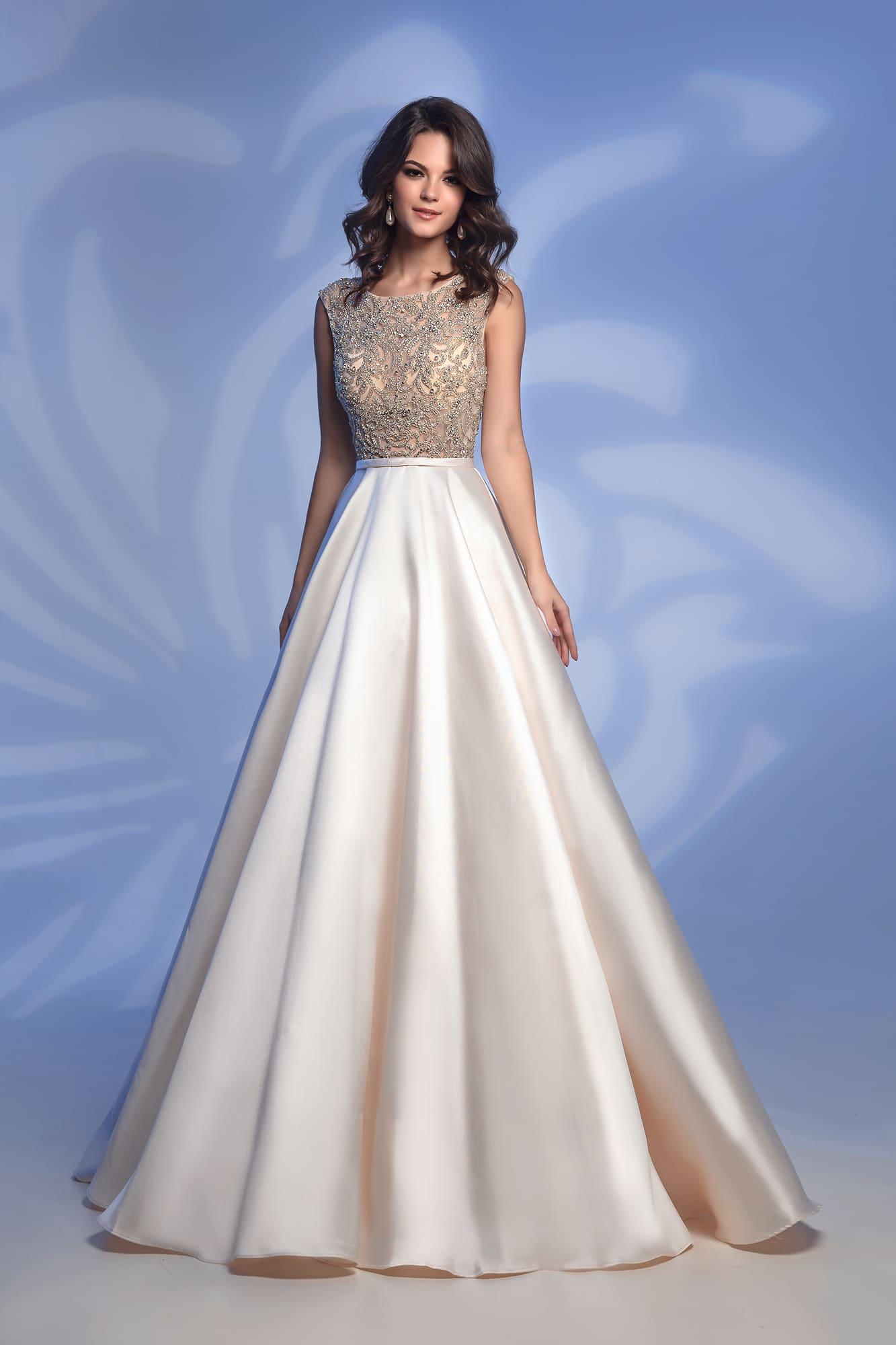 2d5922618e74092 Вечернее платье Nora Naviano 32362D ivory ▷ Свадебный Торговый ...