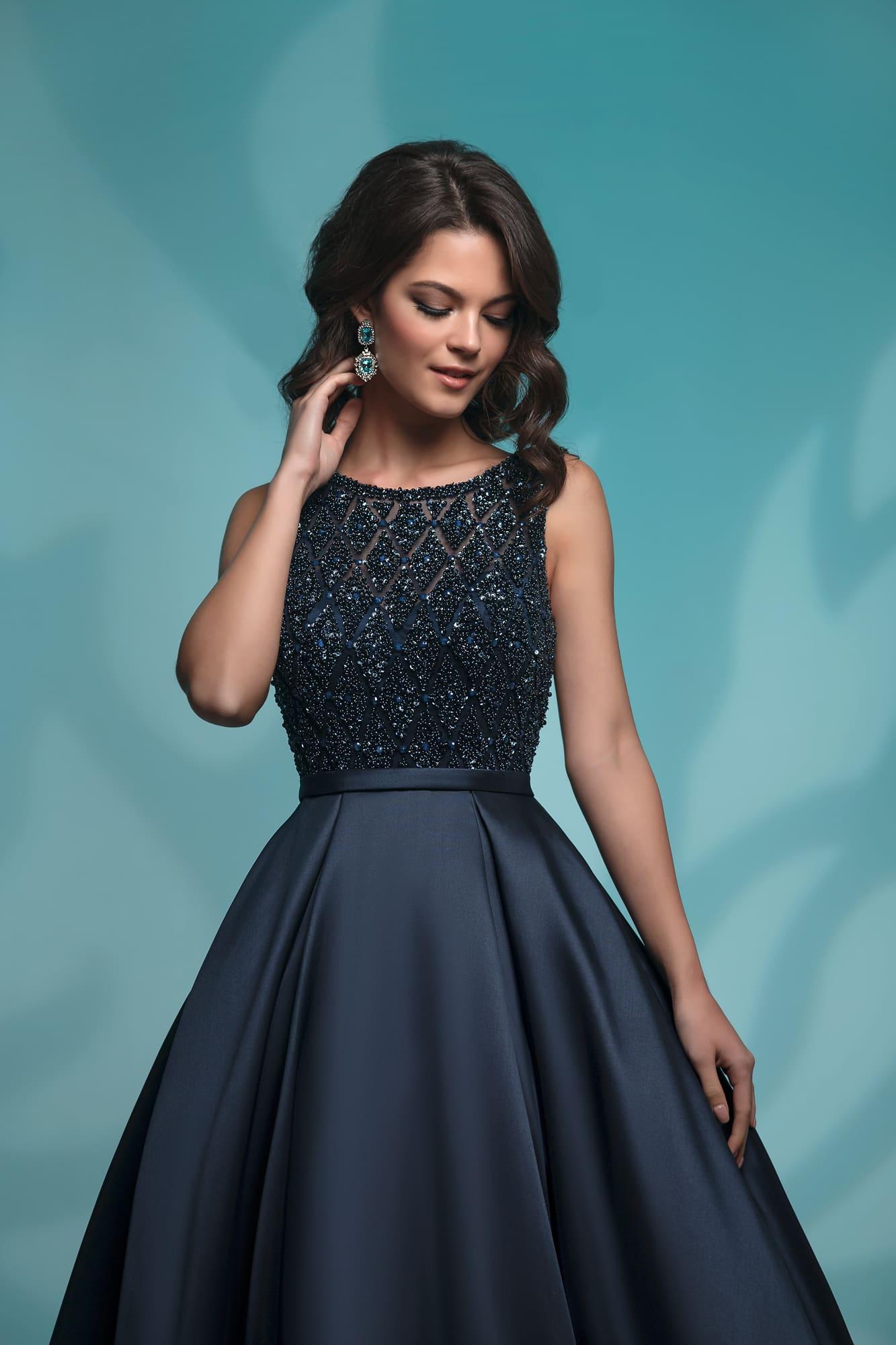 20b32bd48da Темно-синее платье Nora Naviano 8142 navy ▷ Свадебный Торговый ...