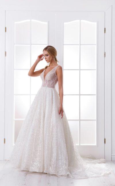 Свадебное современное платье