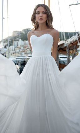 Свадебное платье под горло