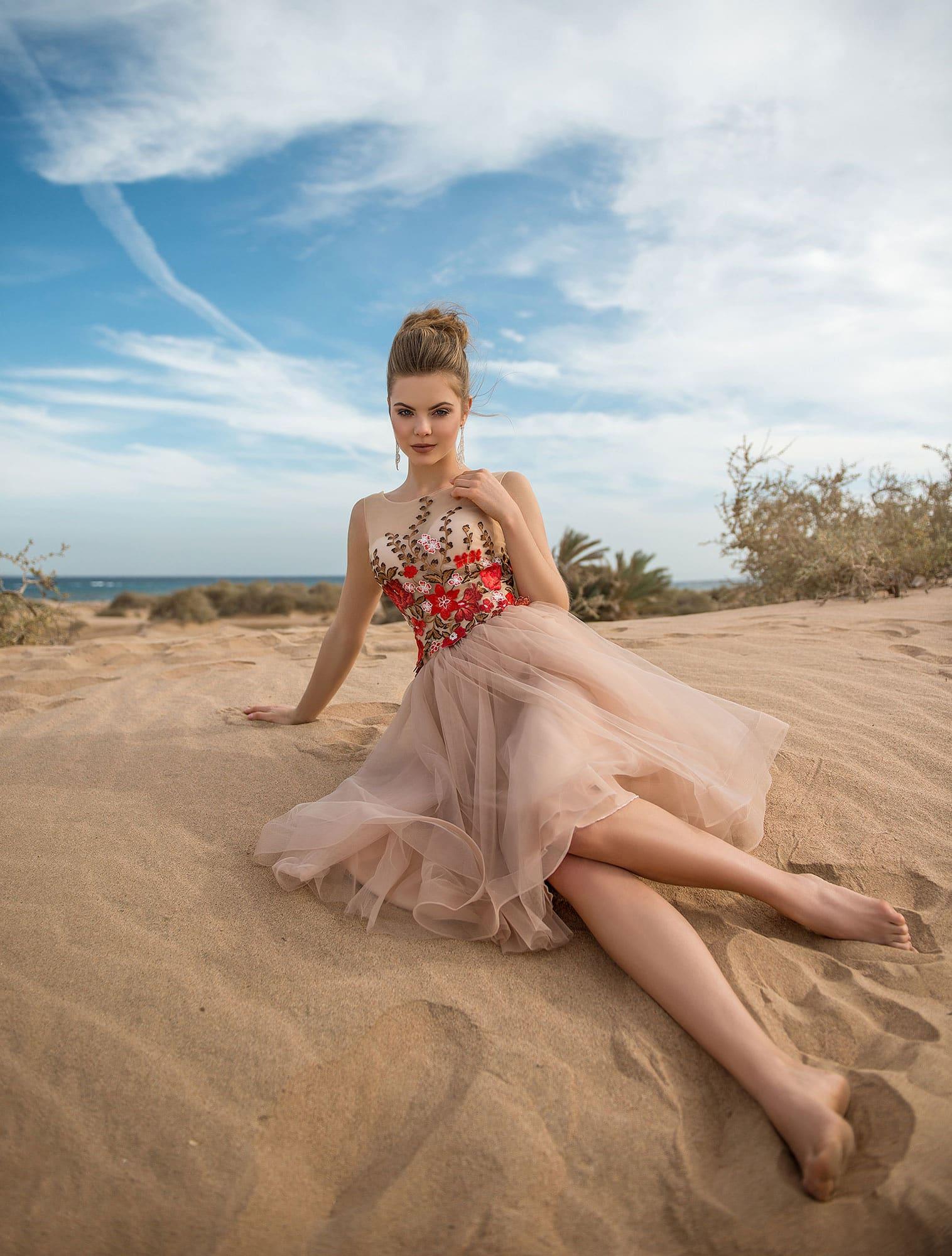 bbe9b35689d45ed Летнее легкое платье Prestige VV004 ▷ Свадебный Торговый Центр Вега ...
