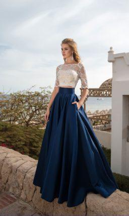 Раздельное вечернее платье