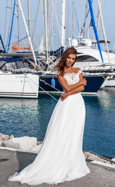 Круизное свадебное платье